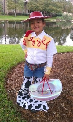 This was Halloween 2011, my daughter was 5 and a half and has been a huge fan of all the Toy Story\'s but that year in particular: Jesse!! Materia