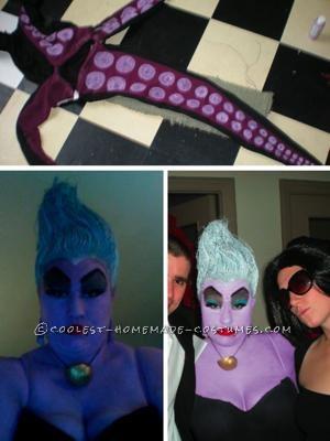 Coolest Ursula and Ariel Costumes