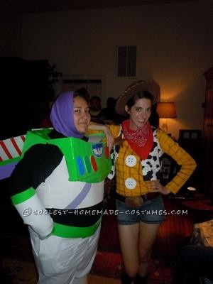 Coolest Woody & Buzz Lightyear Toy Story Costumes
