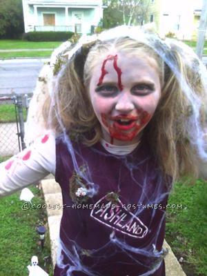 Coolest Zombie Cheerleader Costume