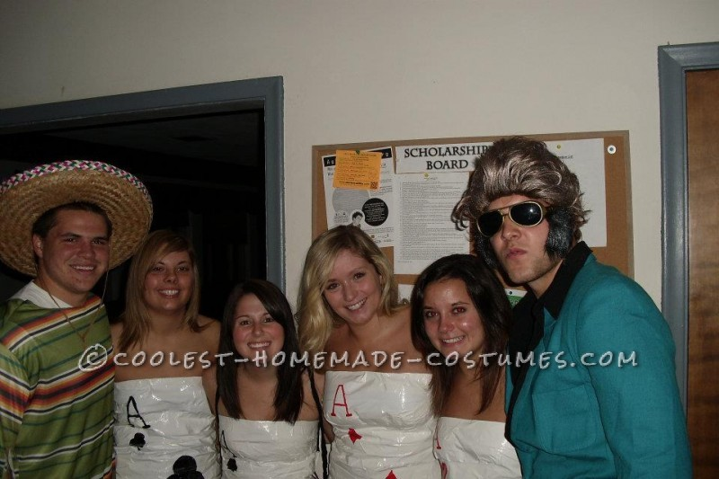 2011 was my freshman year of college at Michigan State University. For Halloween my roommates and I decided we didn't want to go out in the typical