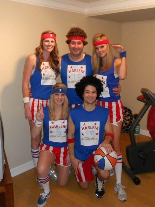Coolest Harlem Globetrotters Group Costume