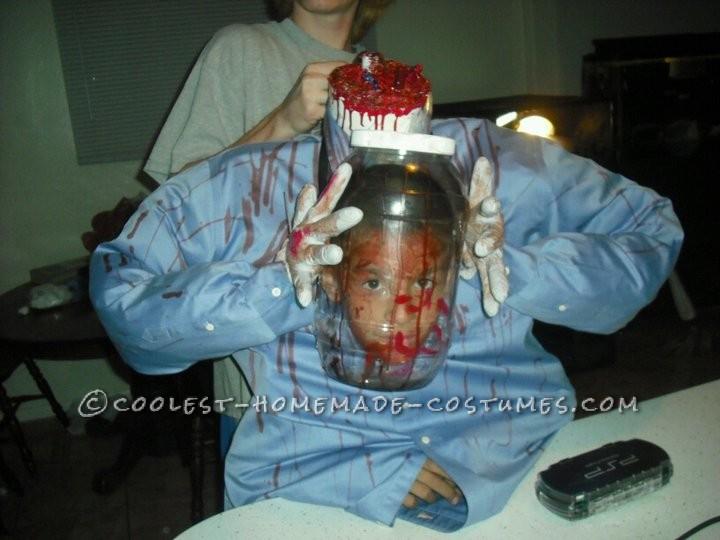 Coolest Head in a Jar Costume - 1