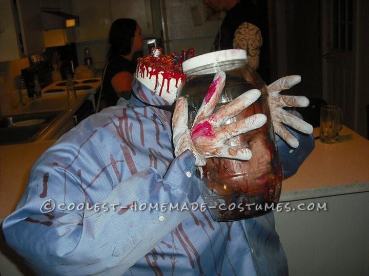 Coolest Head in a Jar Costume - 6