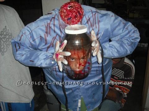 Coolest Head in a Jar Costume