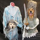 Original Dog Costumes - Headless Ghosts of the 1700's