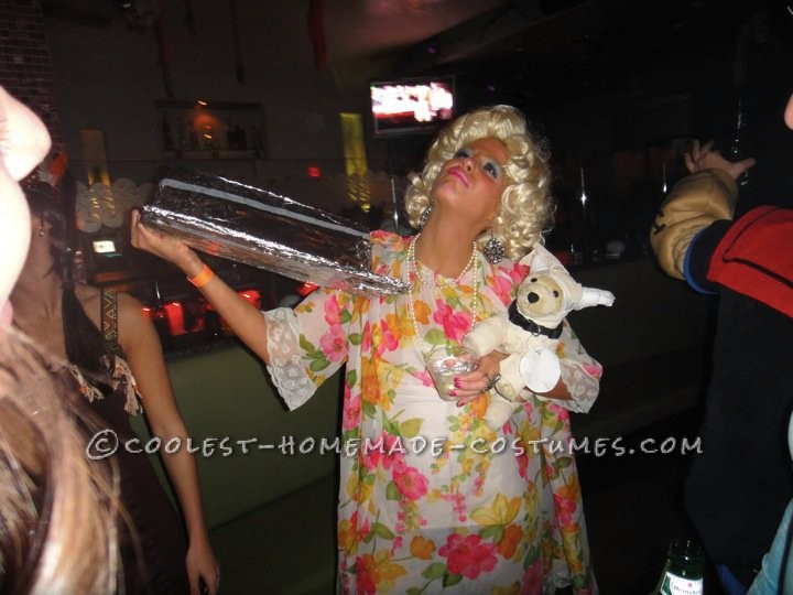 My friends have a long lasting joke that I remind them of the crazy old drunk lady from