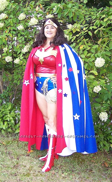 Coolest No-Sew Wonder Woman Costume