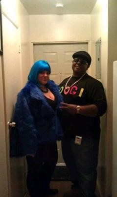 Notorious B.I.G and Lil Kim Couple Costume