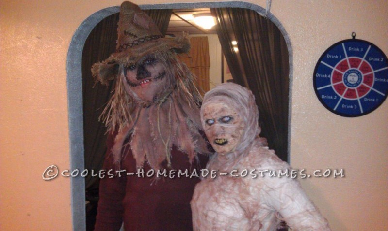 Me and my GF the mummy