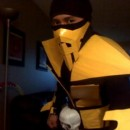 This is my version of the scorpion character from mortal kombat!link for video http://www.youtube.com/watch?v=eLHp1jGZezo&feature=plcpthe mat