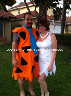 Sexiest Fred and Wilma Flintstone Costume