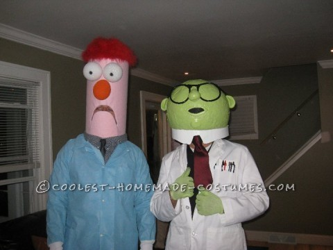 My friend and I randomly decided to do this costume one year for Halloween. We wanted something funny, unique, and a little complicated. Professor B