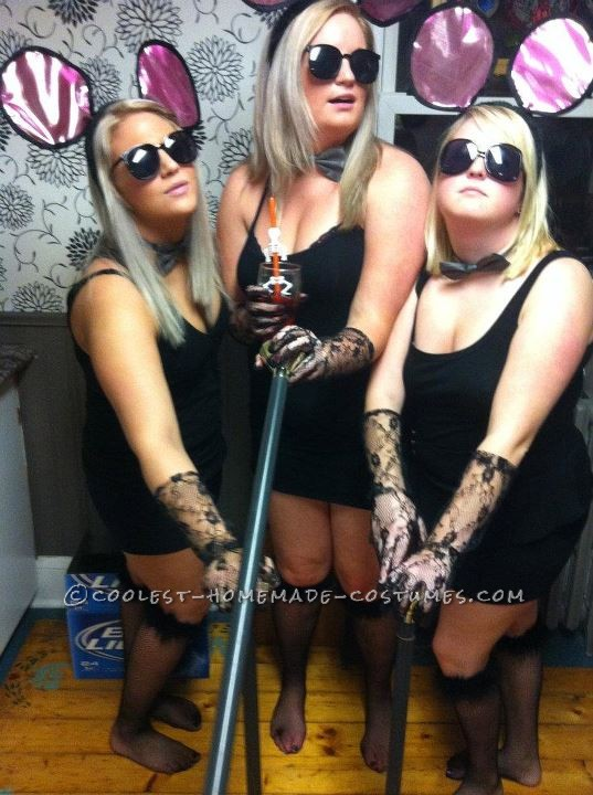 Sexy Three Blonde Blind Mice Costumes