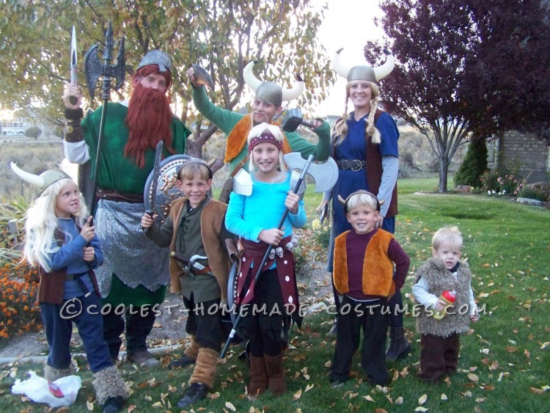 How to Train Your Dragon Family Costume