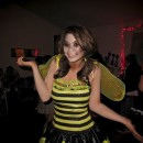 """I'm a pretty """"punny"""" person so I couldn't resist in 2009 to create a Halloween costume off this play on words. I had caught the perfect time sinc"""