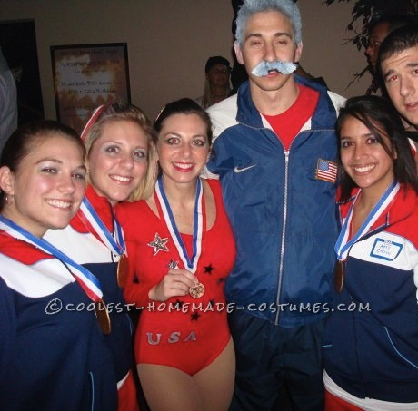 """In 2008, a couple of girlfriends and I thought it would be a great idea to bring back some of the 1996 \""""Magnificent Seven\"""" Women\'s Gymnastic"""