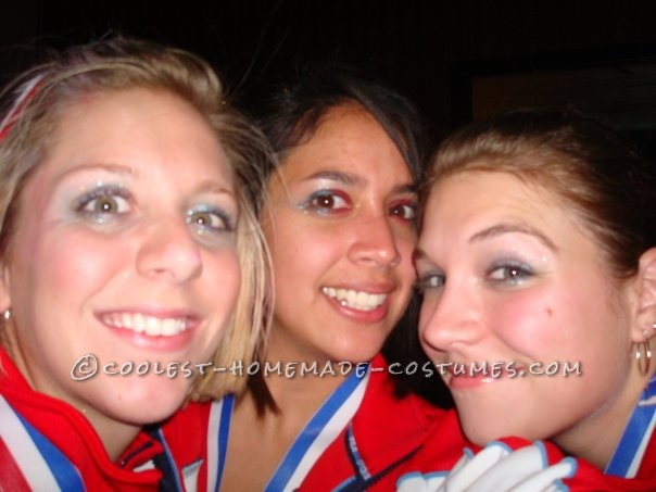 Coolest 1996 Women's Olympic Gymnasts Group Costume - 3