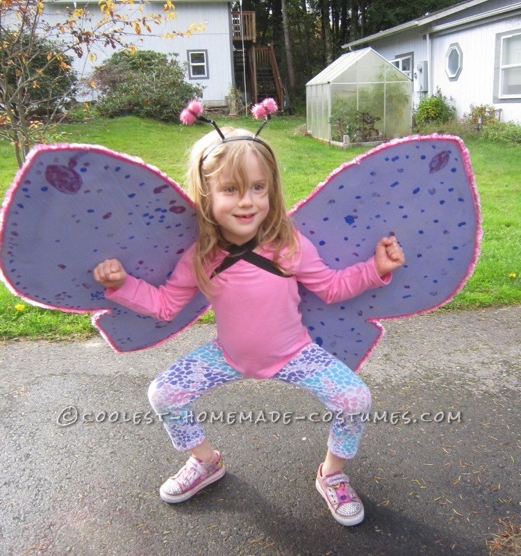 Cool Homemade Insect Costumes: Butterfly and Ladybug - 1