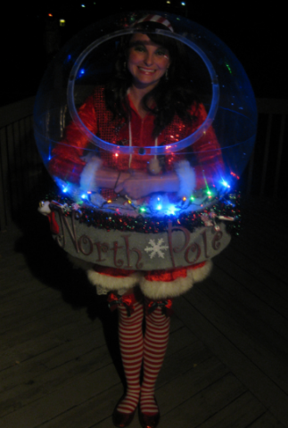 Original Snow Globe Costume (That Really Snows!)