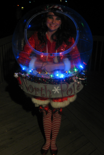 Original Snow Globe Costume (That Really Snows!)