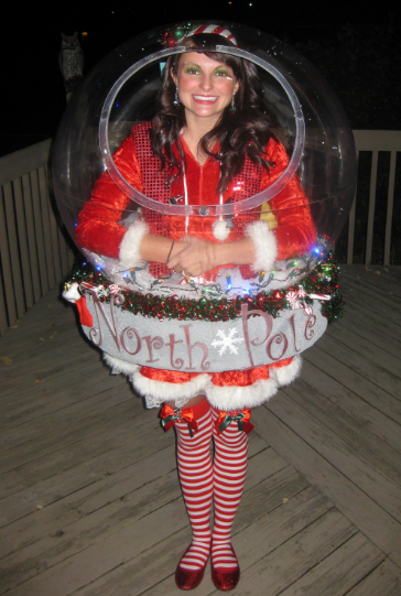 Original Snow Globe Costume (That Really Snows!) - 1