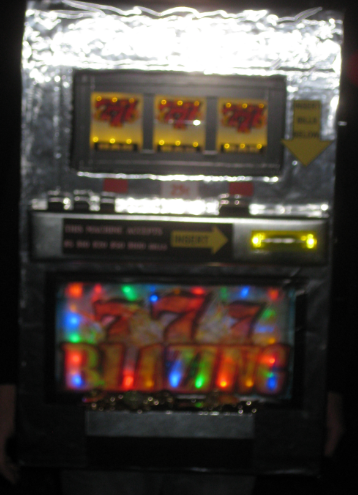 A Working Slot Machine Costume - 2