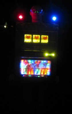 A Working Slot Machine Costume - 1