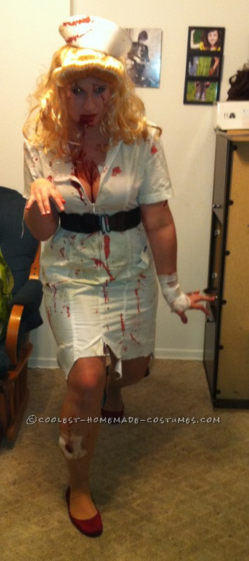 Get your zombie walk down!