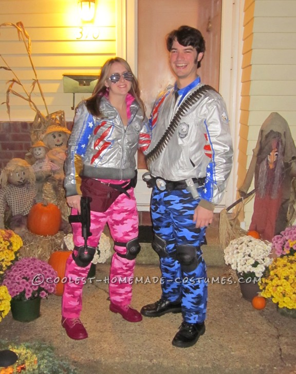 Awesome Team America Couple Costume