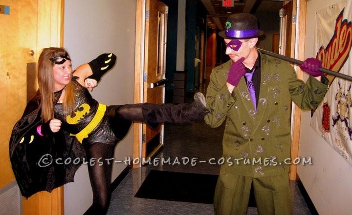 Batgirls vs The Riddler