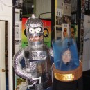 Both these costumes were made by me, but let's face it – Bender and Lucy were made for each other. Bender was made first and is construct