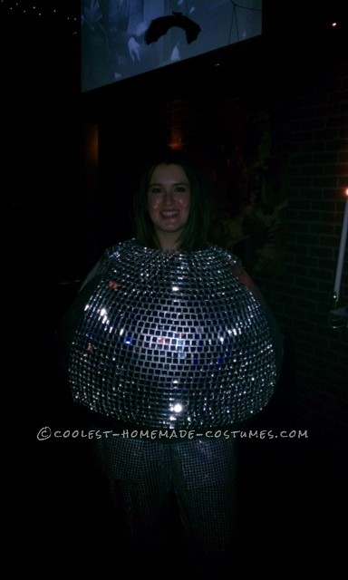 Best Ever Disco Ball Costume