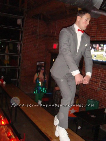 Pee-Wee Herman was an idea I had for Halloween in 2011. I was trying to think of something not only fun and clever, but also something that I could a