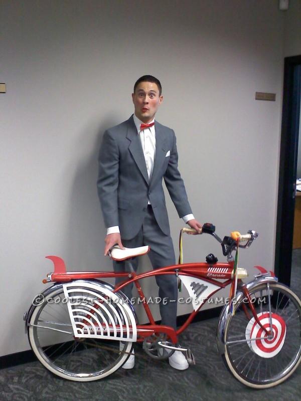 Pee Wee Herman with Bike