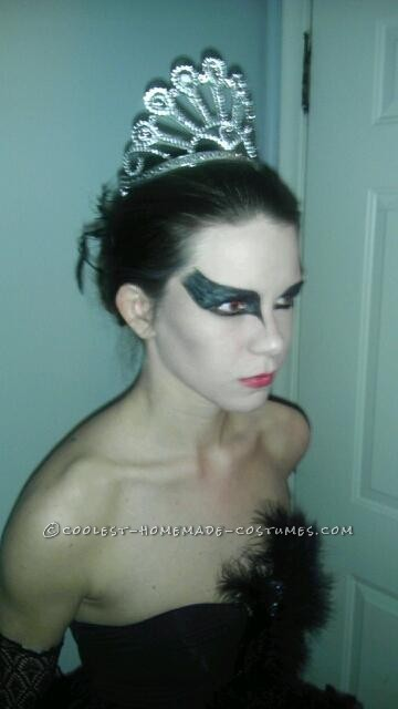 This was my costume from 2011! My friend and I love making halloween costumes every year and decided to do Black Swan last year. It was pretty easy t