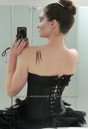 I finally won the coveted annual costume contest with my Black Swan costume! It was also accepted into a gallery art show, my very first exhibition!