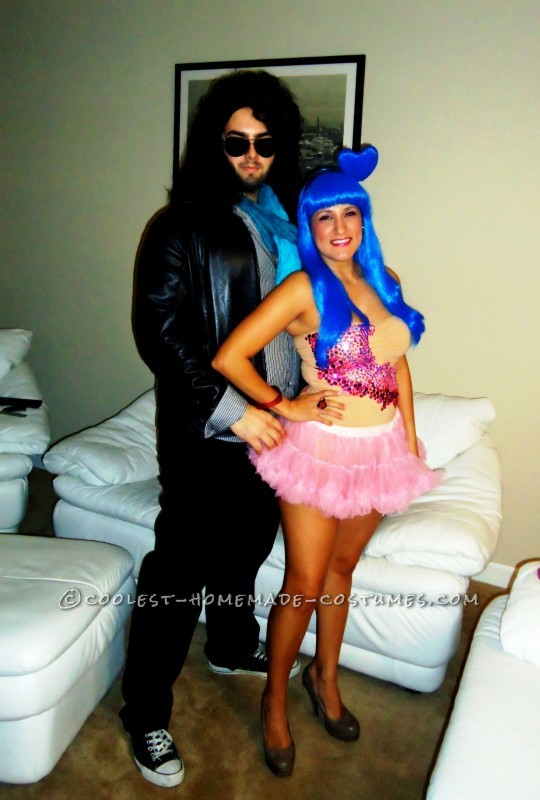 Blinged-Out Katy Perry and Russell Brandt Couple Costume