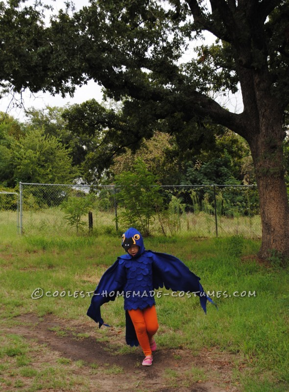 Coolest Blue Macaw Parrot Costume - 1