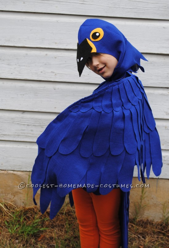 Coolest Blue Macaw Parrot Costume - 4
