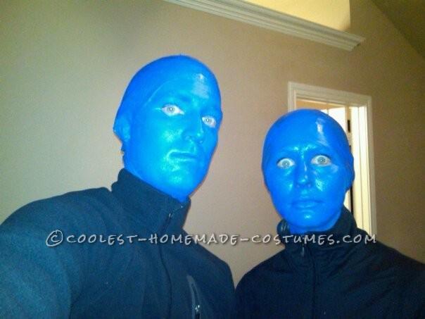 Coolest Homemade Blue Man Group Halloween Costume