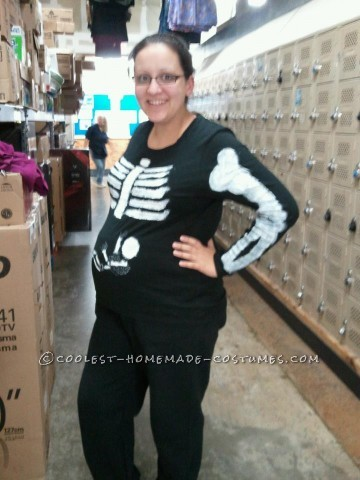 Halloween was approaching, I was pregnant with my 3rd child and I wanted to dress up like I have the years before with my other 2 children; plus ther