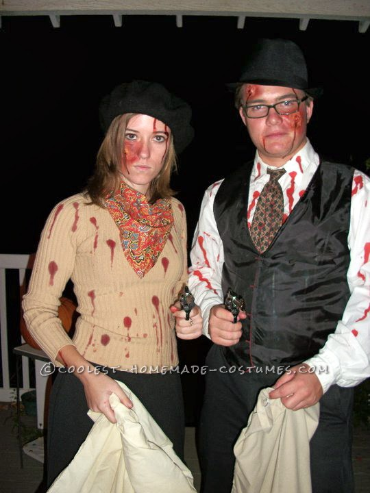 Coolest Bonnie and Clyde Costume