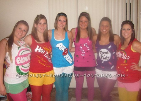 Hello! My name is Andrea. A group of my roomates and friends wanted to do a group halloween costume before we all graduate. We attended Central Mich