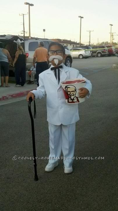 Kfc Colonel Costume Coolest Colonel Sanders Kfc