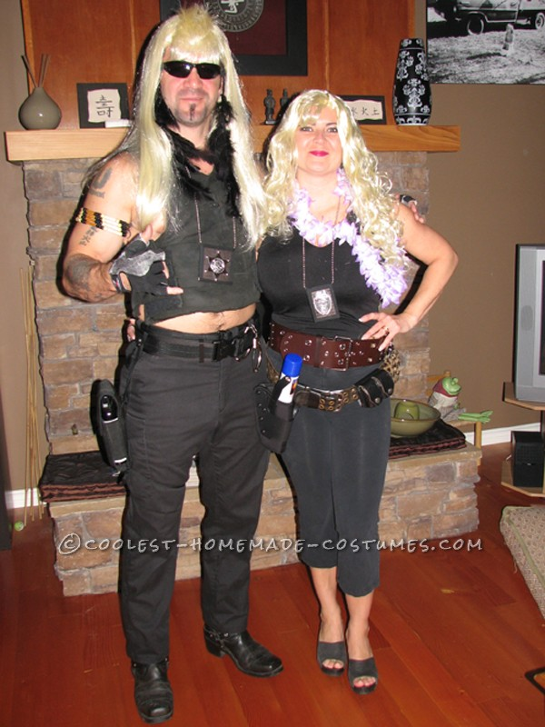Coolest Dog The Bounty Hunter And Beth Halloween Couple Costume