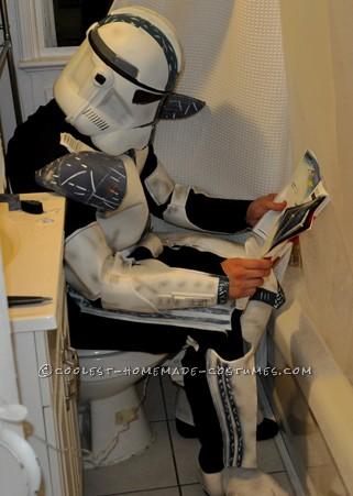 Even stormtroopers gotta go sometime...