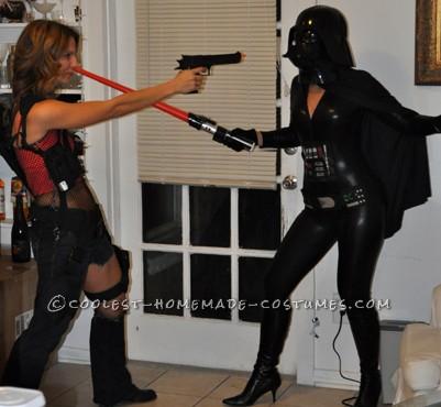 Darth Vader won't let Alice from Resident Evil leave