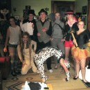 This costume is great for teenagers looking for a group costume! It is incredibly simple, and there are enough circus performers for a huge group. Ou
