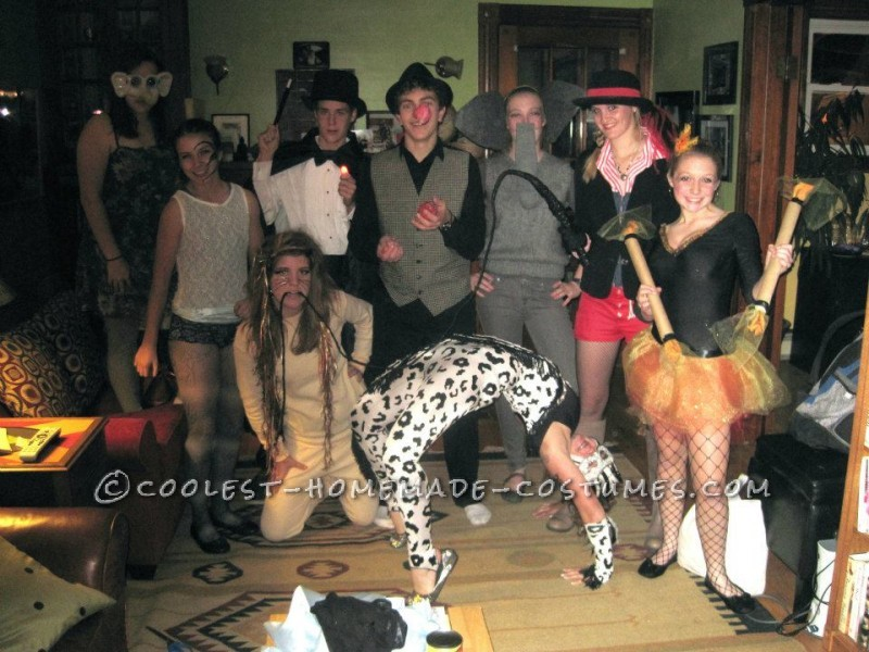 Coolest Group Circus Costume!